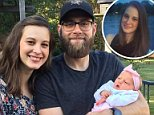 Libby Davis had suffered from postpartum depression since giving birth to her now 20-month-old daughter, Michelle. She is pictured here with husband, Kevin