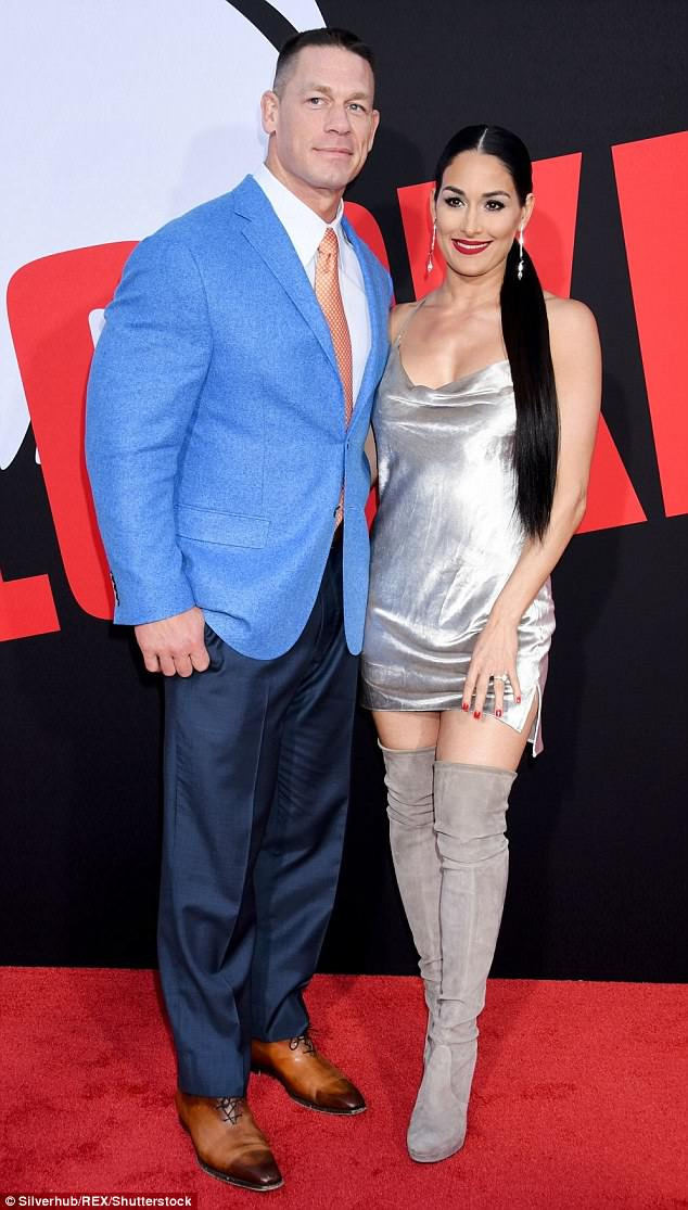 On-and-off:And while the famous duo continue to conquer the media market, it's been a tough few months for Nikki following her split from WWE star turned actor John Cena
