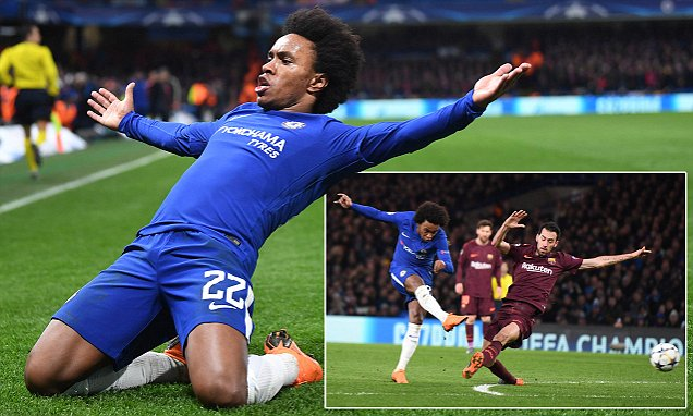 Willian proved to Chelsea why he is key on the big stage