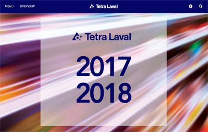 Tetra Laval online annual report