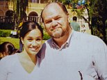 Thomas Markle (pictured with a high school Meghan) has given his most incendiary interview yet, saying his daughter might be better off if he were dead. Royal author Ingrid Seward is urging Meghan to ring her father, for both their sakes