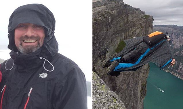 Brit basejumper Robert Haggarty is found dead after crash in Italy
