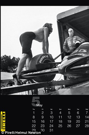 Blast from the past: For its 2014 calendar, Pirelli released an unpublished set of photos by Helmut Newton, intended for the year 1986
