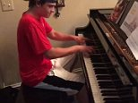 Bryce Dudal, 18, delivered a Michigan family a beautiful rendition of Beethoven's Moonlight sonata