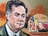 U.S. District Court Judge T.S. Ellis III (seen above in a court sketch), who is presiding over the Paul Manafort trial in Virginia, got into a 10-minute argument with prosecutors after the jury was dismissed