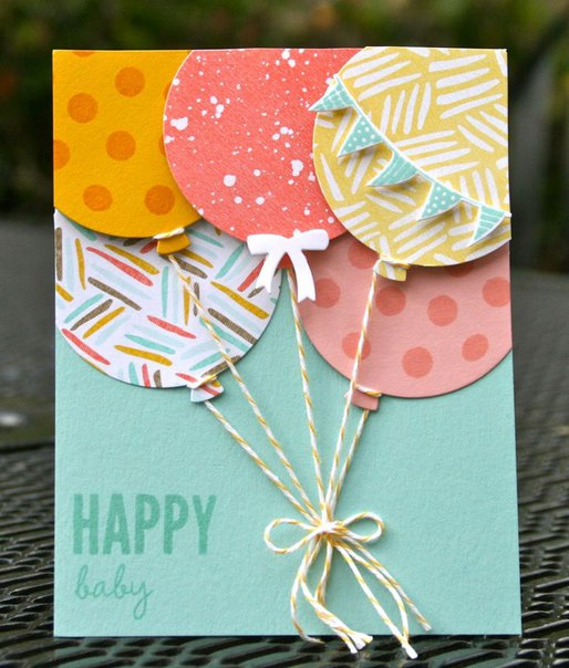 IxwTPcjj3j0 - Идеи открыток ко Дню Рождения своими руками