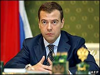 Dmitry Medvedev (image from 13 March)