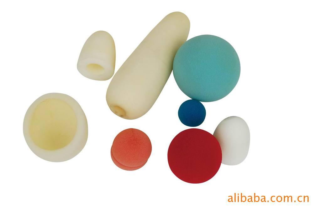 海绵圆管圆条圆球