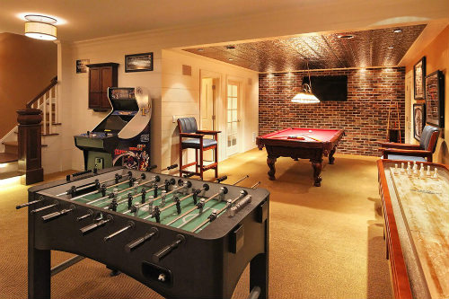 Basement Game Room