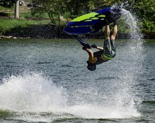 Stunt Jet Ski Flip