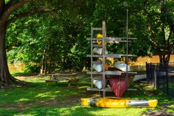Canoe And Kayak Rack