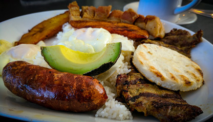 Colombian Meal