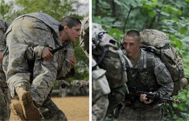 For the first time in the US military history two women will be graduate from Ranger School 640 001