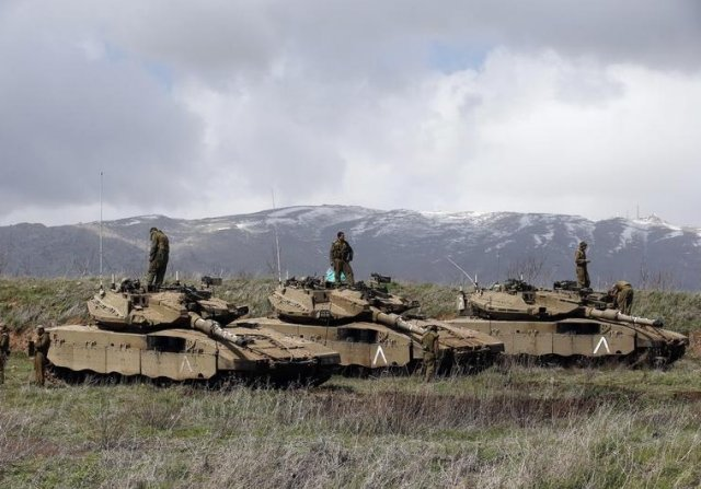 Israel Defense Forces hits 14 targets in Syria in response to rocket fire 640 001