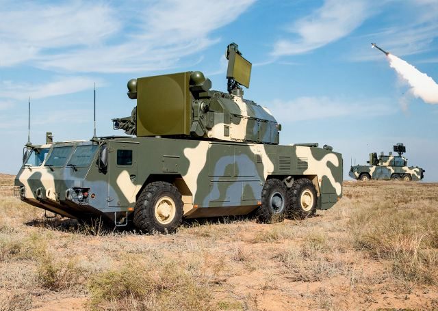 Russia has signed a contract with Belarus to supply TOR-M2K air defense missile systems 640 001