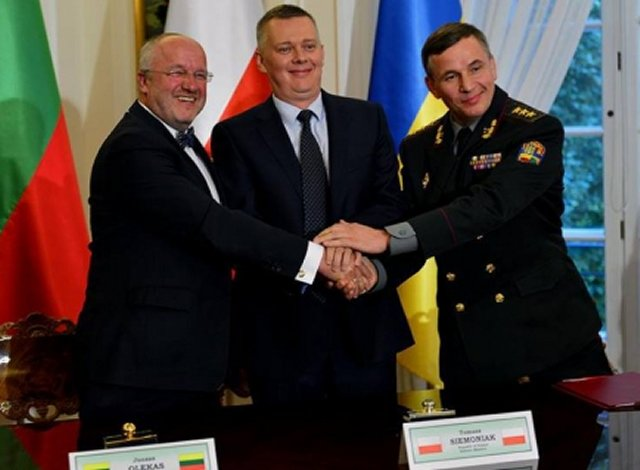 Lithuanian MPs unanimously ratify creation of joint Ukrainian-Polish-Lithuanian Brigade 640 001
