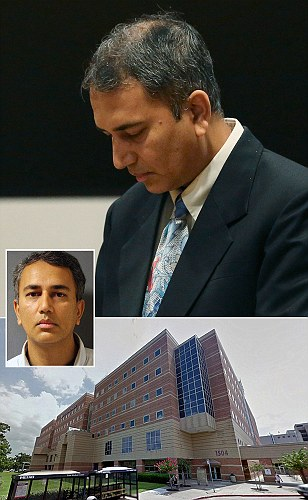 Outrage as former Texas doctor who raped a heavily sedated patient in a hospital gets NO