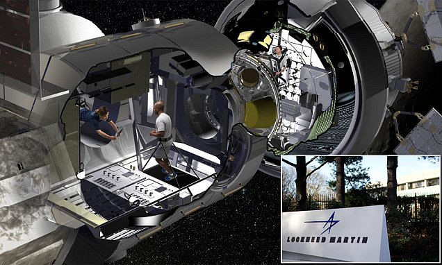 First glimpse at Lockheed Martin's 'RV to Mars' habitat being built for NASA's trip to