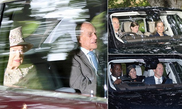 Prince Philip, 97, makes a surprise appearance in Balmoral