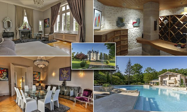 Stunning 19th century French chateau that resembles the Disney Castle goes on sale for