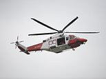 The Coastguard was asked by the South West Ambulance Service to assist with a rescue (Andrew Matthews/PA)