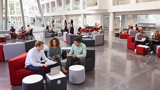 Desks without partitions may be the ?healthier? option at the office