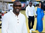 Idris Elba (left) and Sabrina Dhowre attending the Yardie premiere at the BFI Southbank in London. PRESS ASSOCIATION Photo. Picture date: Tuesday August 21, 2018. See PA story SHOWBIZ Yardie. Photo credit should read: Ian West/PA Wire