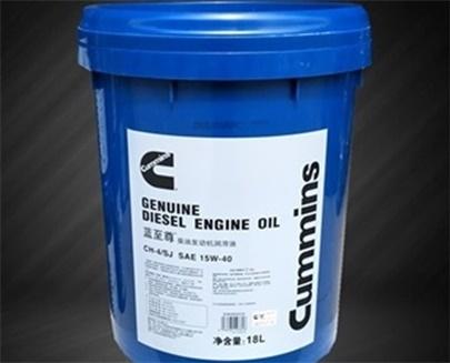 蓝至尊机油CH-4/15W-40-康明斯发动机专用油18L