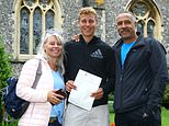 The son of former decathlete Daley Thompson Alex Clayton made his father proud yesterday after scoring the highest mark at his school in – surprise, surprise – PE