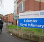 Leicester Royal Infirmary where Yusuf Aka launched his attack (Richard Vernalls/PA)