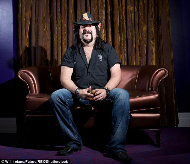 Legend: The musician's passing was confirmed on his Facebook, and a statement read, 'Vincent Paul Abbott aka Vinnie Paul has passed away'