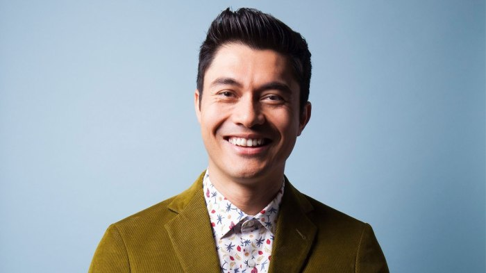 Henry Golding Was Confident Amid 'Crazy