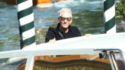 David Cronenberg poses for photographers upon