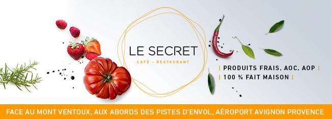 Le Secret - Café restaurant Terminal aeroport avignon provence