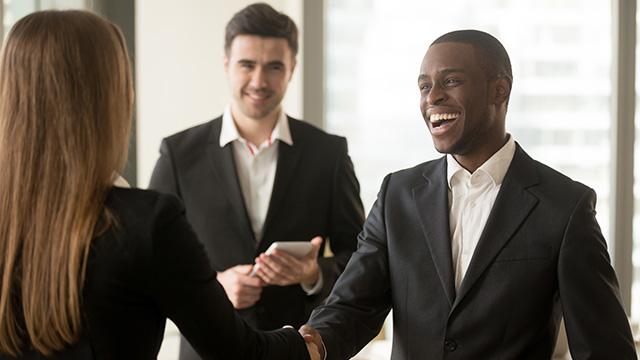 Business encounter
