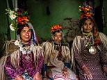 These stunning portraits show some of remaining members of the Drokpa people, dressed in traditional outfits