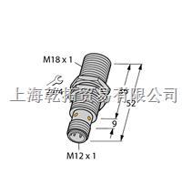TURCK齐平传感器,德国图尔克电感式传感器 BI8U-EM18WD-AP6X-H1141/3GD