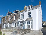 This three-bedded Victorian home that overlooks the GP surgery used in the TV show Doc Martin has gone up for sale