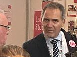 This is the explosive picture that proves that extreme anti-Israel activist Miko Peled was inside Labour conference with a security pass, despite the party denying this