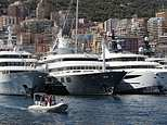 Dozens of superyachts, their designers and owners have descended on Port Hercules in Monaco for the 27th annual yacht show which last from September 26 to 29