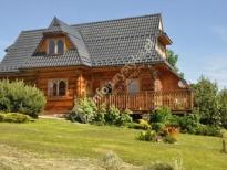 Dom Drewniany z widokiem na Tatry