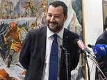 Italian deputy prime ministersMatteo Salvini (pictured) and Luigi di Maio put forward budget proposals on Thursday night that they said would 'eradicate poverty' but cause debt to spiral