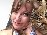 Victims: Graham and Karen Young's cat Bounce was killed in June
