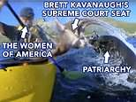 Stephen Colbert used a bizarre video of a seal using an octopus to slap a man on a kayak as he tried to explain the deeper issues of Brett Kavanaugh's SCOTUS nomination