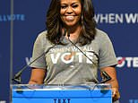 Michelle Obama has said she is tired of the 'daily chaos' in Washington, but revealed the memory that keeps her going whenever she feels like stepping away from politics