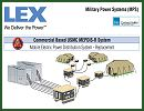 Lex Products Corp. announced that the U.S. Marine Corps has awarded the company a contract for the design and development of Advanced Mobile Electric Power Distribution System (AMEPDIS). AMEPDIS is the enhanced version of the MEPDIS-R portable electric power distribution system, which Lex Products has supplied to the all Marine Corps forward operating bases since 2004.