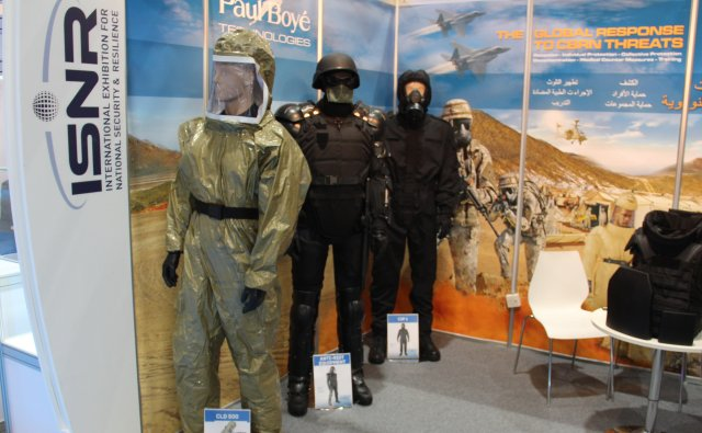 French company Paul Boyé Technologies shows its protection equipment at ISNR 2016 640 001