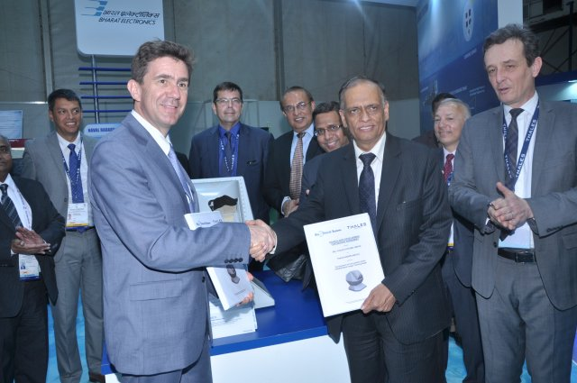 Thales and BEL Thales Systems to jointly develop new PHAROS fire control radar 640 001