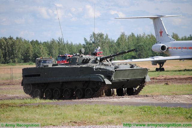 Equatorial Guinea plans to buy Russian-made BMP-3 armoured infantry fighting vehicle 640 001