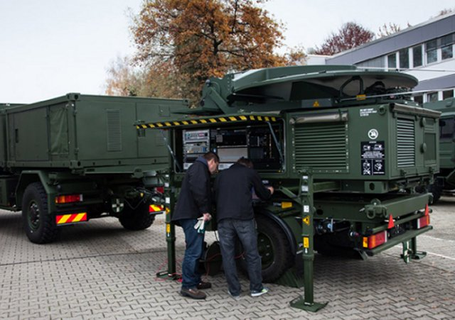 Airbus Defence and Space completed its newly developed mobile general ground stations 640 001